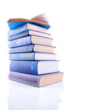The Pile of  Volumes of Books Stock Photos