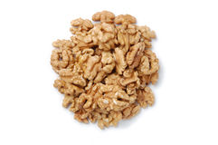 Pile of walnuts Stock Image