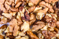 Pile Of Walnuts Royalty Free Stock Images