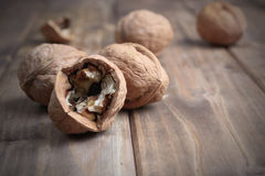 Pile of walnuts Royalty Free Stock Image