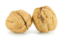 Pile walnuts Royalty Free Stock Image