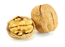 Pile walnuts Royalty Free Stock Photo