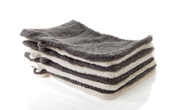Pile of washcloths Stock Images