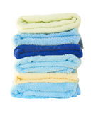 Pile of washed towel Stock Image