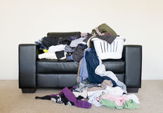 Pile of Washing Royalty Free Stock Photo