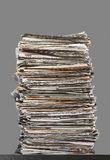 Pile of waste paper Stock Images