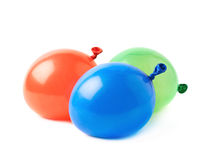 Pile of water filled balloons isolated Stock Image