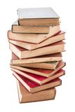 Pile of Weathered Old Books Stock Photography