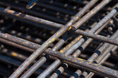 Pile of welded wire mesh Stock Image