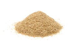 Pile of Wheat Bran Royalty Free Stock Photos