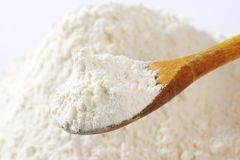 Pile of wheat flour Stock Photography