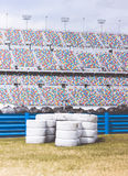 Pile of White Auto Tires during Daytime Royalty Free Stock Photo