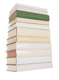 Pile of white books with one green book Stock Photography