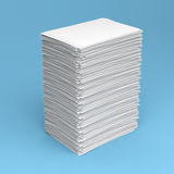 Pile of white paper Stock Photography