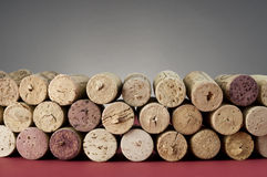 Pile of Wine Bottle Corks Royalty Free Stock Image