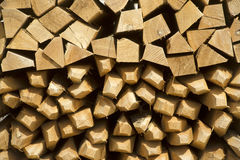 Pile of wine stakes - Wood Royalty Free Stock Photography