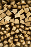 Pile of wine stakes - Wood Royalty Free Stock Images