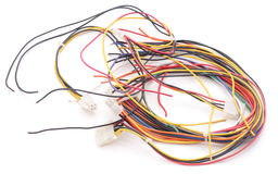 Pile wires. Royalty Free Stock Photos
