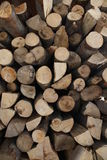 Pile of wood. Close up with a pile of wood Royalty Free Stock Photo