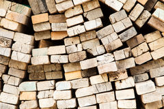 Pile of wood. Royalty Free Stock Image
