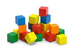 Pile of Wood Blocks royalty free stock photography