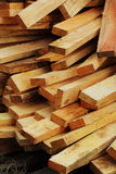 A pile of wood. Royalty Free Stock Photography