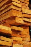 A pile of wood. Stock Photos