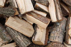 Pile of wood. Pile of chopped fire wood Royalty Free Stock Photo