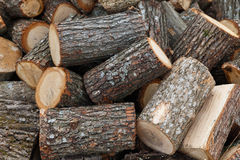 Pile of wood. Pile of chopped fire wood Stock Photo