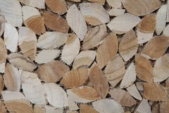 Pile of wood. Pile of chopped fire wood prepared for winter Royalty Free Stock Photos