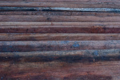 Pile wood Stock Images