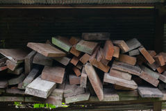 Pile wood Royalty Free Stock Photos