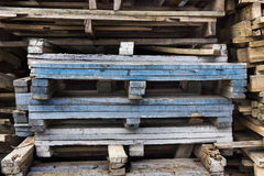 Pile of wood. Stock Images