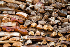 Pile of wood. Stock Photography