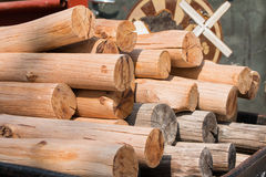 A pile of wood Royalty Free Stock Image