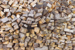 Pile of wood logs. Wood logs texture. Wooden background. Pile of wood close-up. Stock Photo