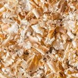 Pile of wood shavings Royalty Free Stock Image