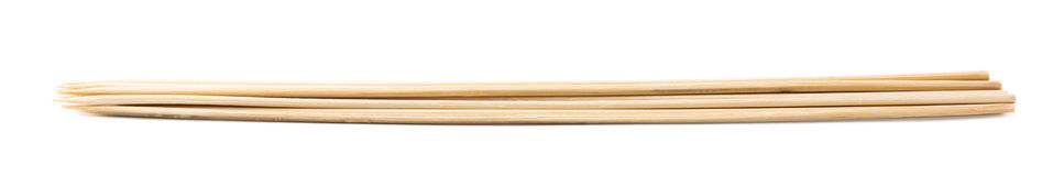 Pile of wooden skewers  Stock Photo