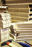 Pile of woods Stock Image