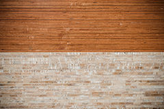 Pile of Woods Stored in stock Royalty Free Stock Image