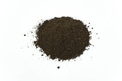 Pile of Worm Humus Soil Stock Images