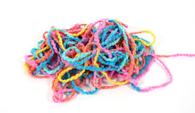 Pile of yarn Stock Photos