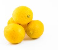 Pile of yellow lemons Royalty Free Stock Photography
