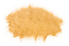 Pile of yellow sand Stock Image