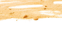 Pile of yellow sand Royalty Free Stock Photo