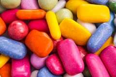 Pile of yummy candy Royalty Free Stock Images