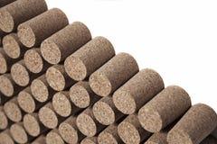 Piled corks Stock Photos