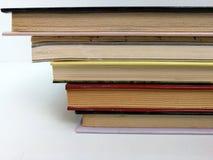 Piled elegant books Stock Photo