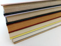 Piled elegant books Stock Photos