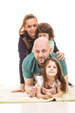 Piled family Stock Photography